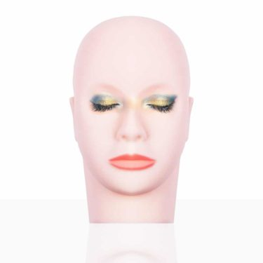 Mannequin head to help sissy learn how to do make up