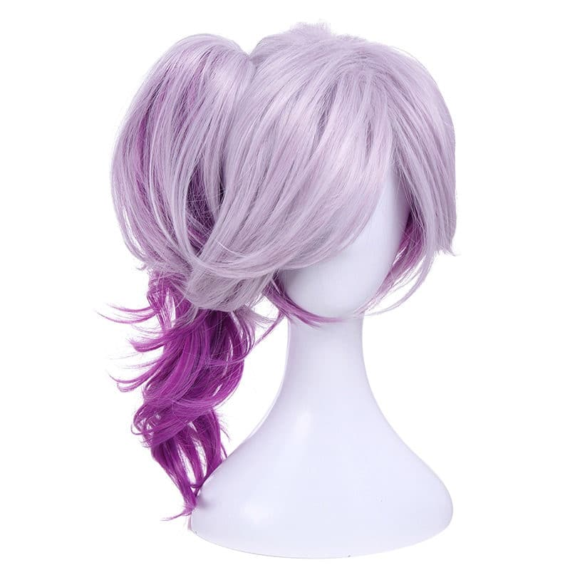 Purple Party-Girl Wig