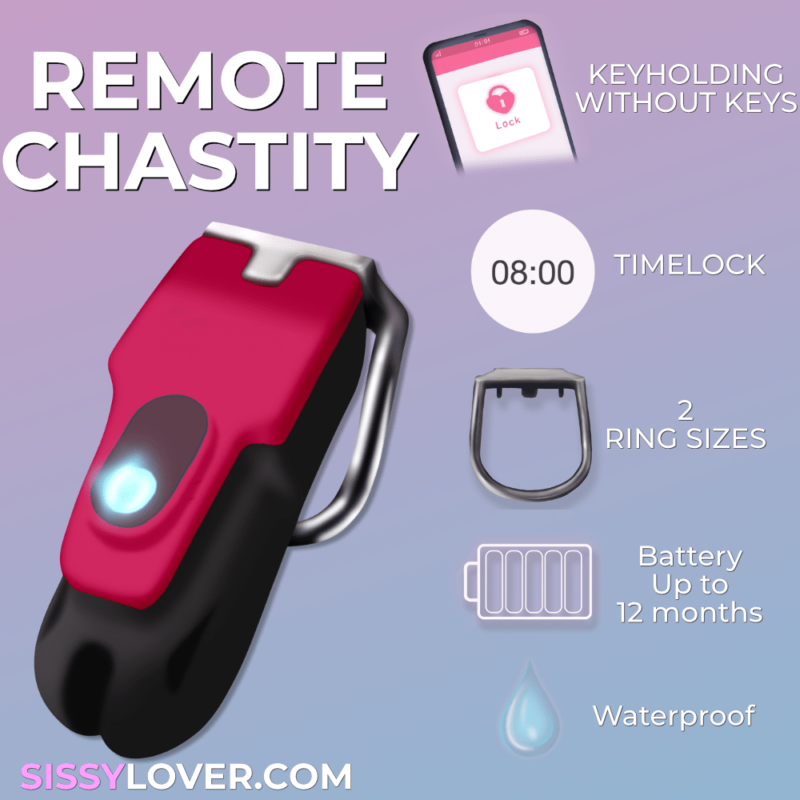 remote control chastity features timelock controlled via app